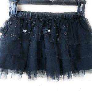 Trissi Tulle Layered Skirt